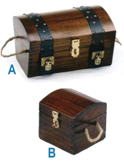 IMPORTED WOOD CHESTS